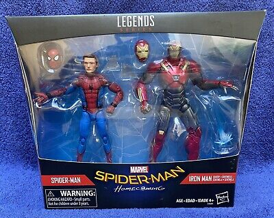 Marvel Legends - SPIDERMAN HOMECOMING - 2 Pack Spider-Man/Ironman
