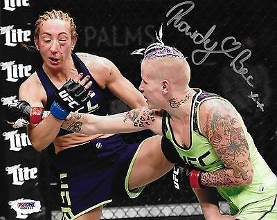 Rowdy Bec Rawlings Signed Ufc 8X10 Photo Psa Dna Coa Ultimate Fighter 20 Finale