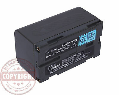 Bdc-70 Battery For Sokkiatopcon Total Stationgpssrxgrxrobotichiper V