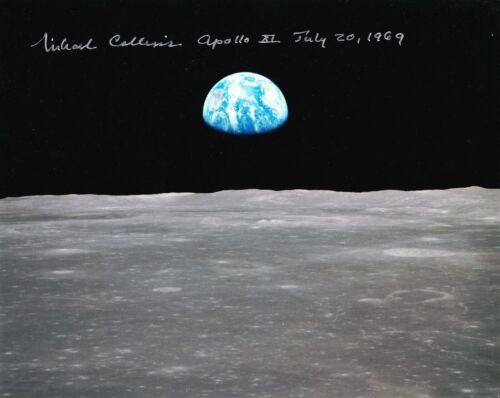 Michael Collins Autographed Signed 8x10 Photo ( Apollo 11 ) REPRINT