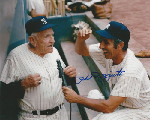 New York  Yankees Phil Rizzuto autographed 8x10 color photo with Casey Stengel
