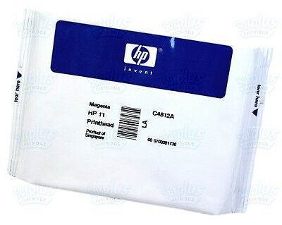 Genuine HP 11 Magenta Printhead C4812A DesignJet 110 120 500 510 800 K850 (Genuine Hp Magenta Printhead)