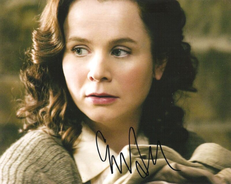 EMILY WATSON SIGNED 8X10 PHOTO PROOF COA AUTOGRAPHED WAR HORSE BELLE