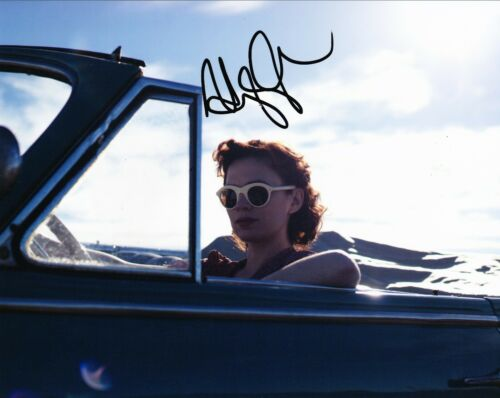 Hayley Atwell SIGNED 10X8 Photo AVENGERS Peggy Carter AFTAL COA (7507)
