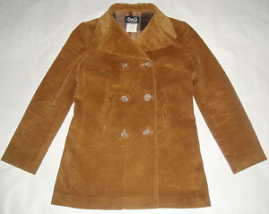 D-amp-G-DOLCE-amp-GABBANA-corduroy-jacket-coat-giaccone-cappotto-soprabito-donna-S