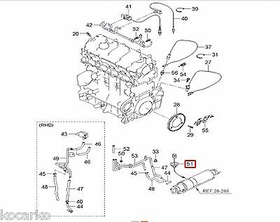 2.0L CRDi Exhaust Temperature Sensor For KIA CEED Carens