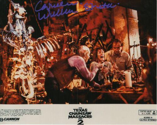 Caroline Williams Autograph Signed 8x10 Photo -TX Chainsaw Massacre (Zobie COA)