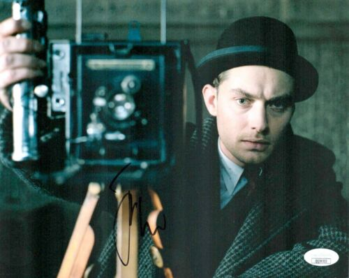 JUDE LAW Signed ROAD TO PERDITION SEXY ACTOR 8x10 Photo Autograph JSA COA