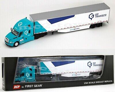 2020 First Gear DCP 1:64 *GP TRANSCO* Freightliner 2018 Cascadia 53' Trailer NIB