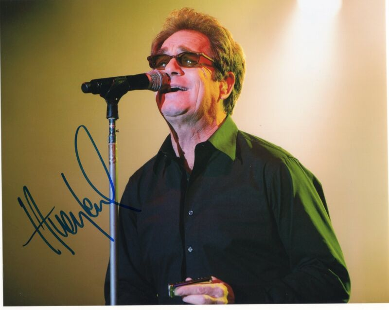 Huey Lewis Power of Love Singer Signed 8x10 Photo w/COA #1