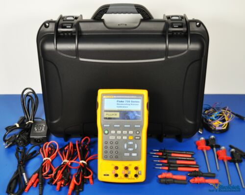 Fluke 754 Documenting Process Calibrator HART NIST Calibrated with Data