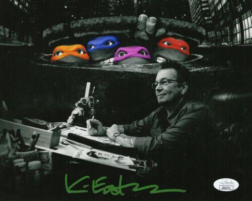 Kevin Eastman Autograph Signed 8x10 Photo - TMNT Creator (JSA COA)