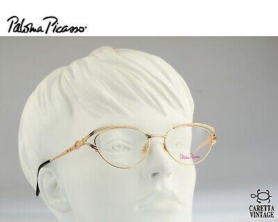 Paloma Picasso 8343 689, 90s vintage cat eye eyeglasses optical frame  - (Large Cat Eye Optical Frames)