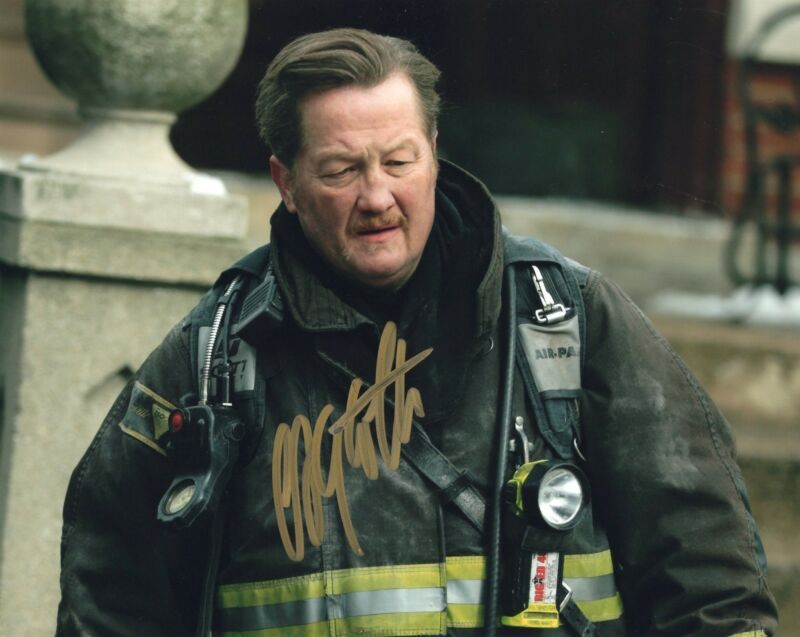 Christian Stolte signed 8x10 Photo w/COA Chicago Fire P.D. Randall McHolland #1
