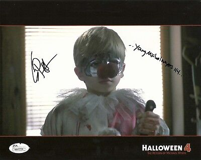 Young Michael Myers Halloween (ERIK PRESTON signed 8x10 Photo HALLOWEEN 4 Young Michael Myers)