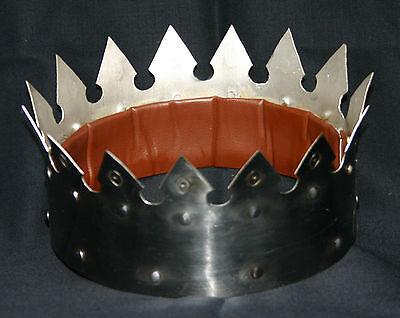 Königskrone Königshelm Helm Ritter Mittelalter Krone Larp Kaiser Rüstung R119