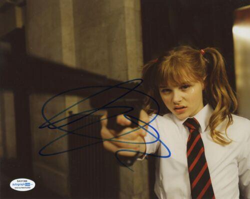 Chloe Moretz Kick-Ass Autographed Signed 8x10 Photo ACOA 2020-1