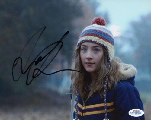 Saoirse Ronan Lovely Bones Autographed Signed 8x10 Photo COA