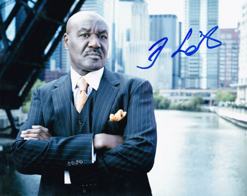 Delroy Lindo Signed 8x10 Photo Authentic Autograph Cider House Rules Gone in 60