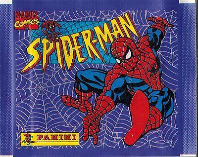 Italy 1995 Panini Spiderman Marvel Comics sticker pack