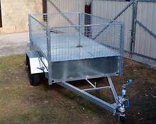 Box Trailer 7x4 Gal with Cage Yatala Gold Coast North Preview