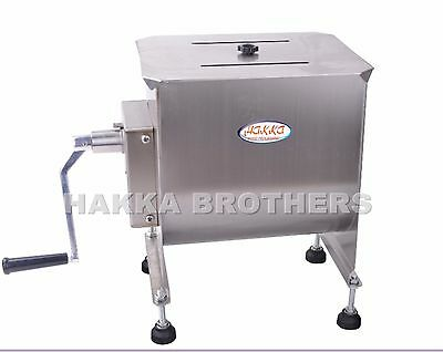 Hakka Meat Mixer 20 Pound 10 Liter Capacity Tank Commercial Manual High Quality