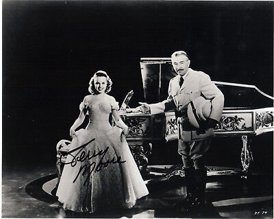 """VINTAGE """"MIGHTY JOE YOUNG""""  ACTRESS; TERRY MOORE   SIGNED PHOTO"""