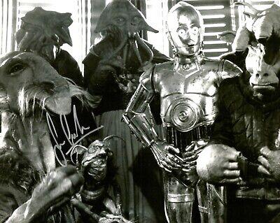 "Star Wars Sean Crawford Hand Signed 8x10"" Photo COA Saelt-Marae Autograph Disney"