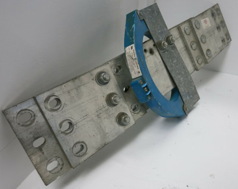 "GE TGS0008 Ground Break Sensor 3000A w Neutral Disconnect link 13"" Aluminum"