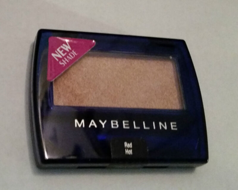 Eye Shadow Maybelline Expert Eyes Red Hot Brand New Sealed
