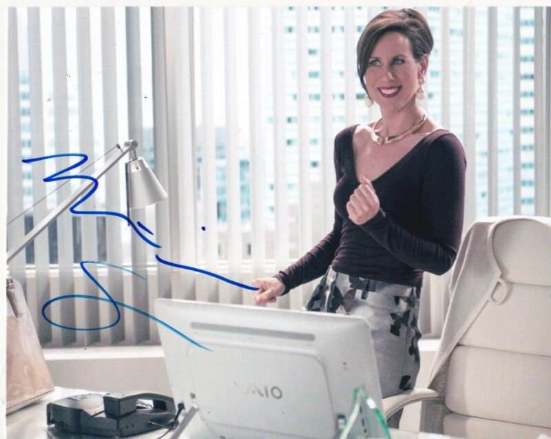 MIRIAM SHOR SIGNED 8X10 PHOTO AUTHENTIC AUTOGRAPH YOUNGER COA A
