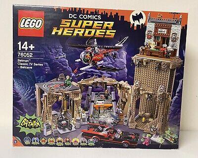 LEGO DC COMICS SUPER HEROES BATMAN CLASSIC TV SERIES BATCAVE 76052