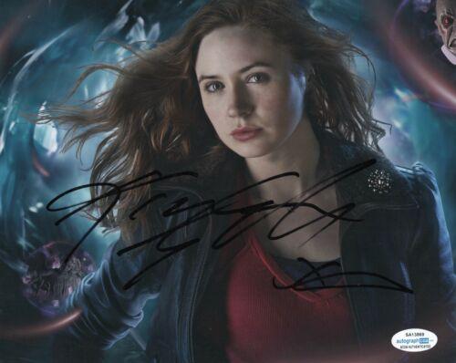 Karen Gillan Doctor Who Autographed Signed 8x10 Photo ACOA #1