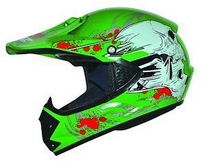 Stark Kids Pro Kinder Motocross Helm MX BMX Quad ATV Motorradhelm Motorrad Helm