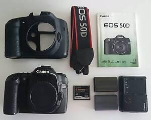 Canon 50d body 15.1 megapixel DSLR + extras Haymarket Inner Sydney Preview