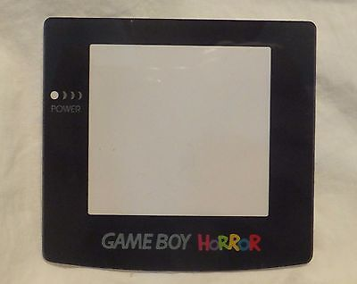 Real Glass: Game Boy Color Horror (GBC) Replacement Screen Protector (Lens), used for sale  Shipping to India