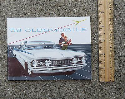 Original  1959 Oldsmobile  Color Booklet Models Specs Etc