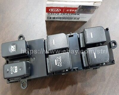 OEM 14PINS Power Window Main Switch ASSY For KIA SOUL 2009-2013 #935702K010WK