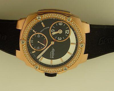 Alpina Avalanche Extreme Regulator Rose Gold PVD Diamond Bezel Men's Watch..