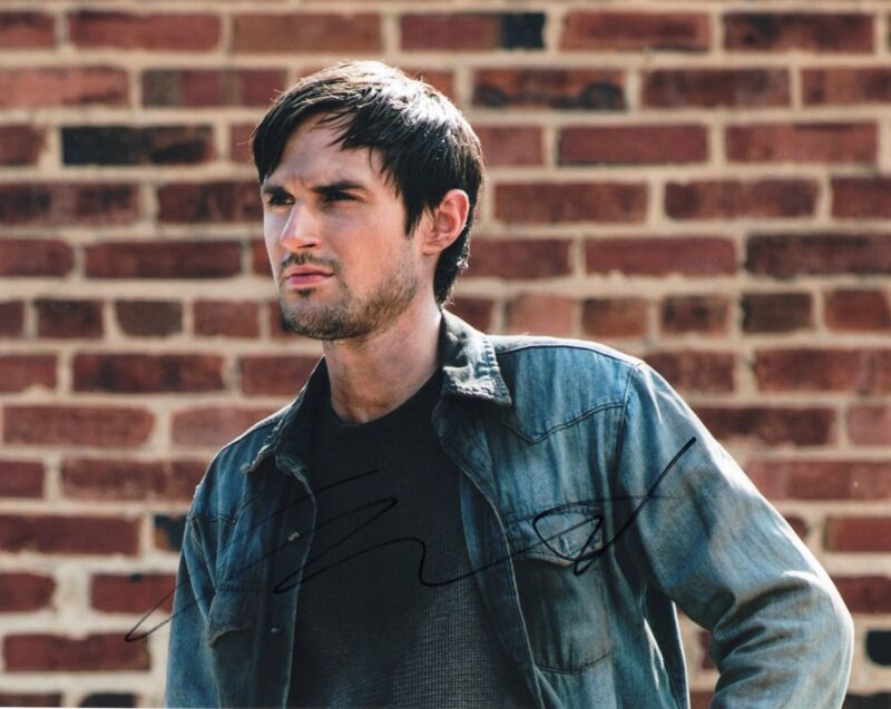 Andrew West The Walking Dead Gareth Zombie Killer Signed 8x10 Photo w/COA #3