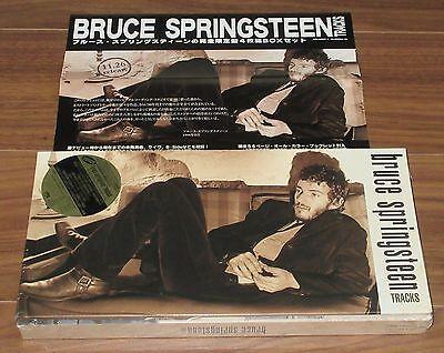 PROMO issue! SEALED! Bruce SPRINGSTEEN Japan 4 CD original box set + promo flyer