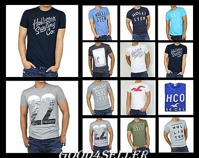 New Hollister By Abercrombie A F Men Graphic T Shirt Muscle Fit Size S M L Xl