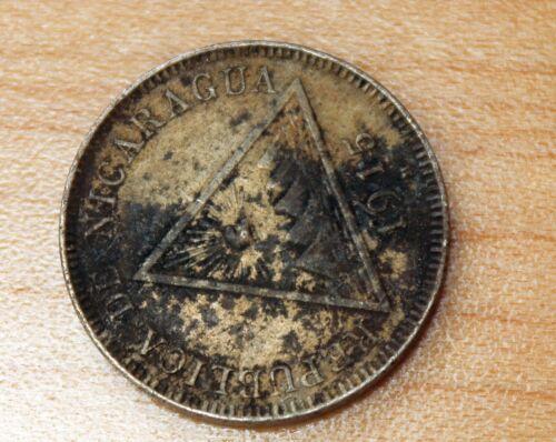 1915 Nicaragua 5 Centavos