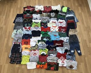 Baby Boy Clothes l 6-12 months (90 items)