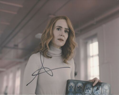 SARAH PAULSON SIGNED AMERICAN HORROR STORY 8x10 PHOTO B w/COA THE GOLDFINCH AHS
