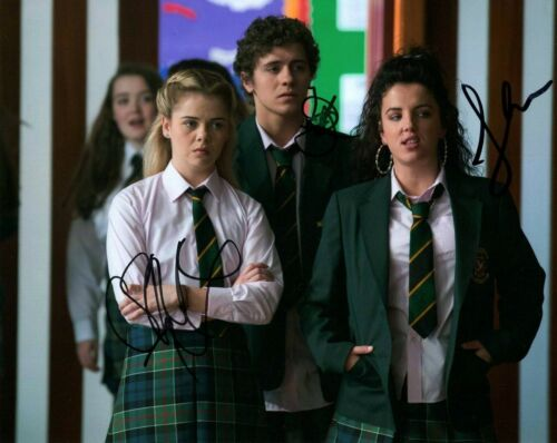 Derry Girls Saoirse-Monica Louisa Harland Autographed Signed 8x10 Photo COA