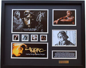 New 2 Pac Tupac Signed Limited Edition Memorabilia Framed