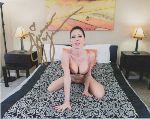 JESSICA JAYMES Porn Adult Video Stars Signed 8x10 Photo d