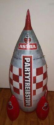 Astra Bier Rakete aufblasbar, Partytreibstoff, Partygag, Kiez, Hamburg St.Pauli