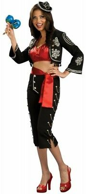 SEXY Senorita Spanish Cinco De Mayo Costume Women's SMALL Latina cute mariachi](Cinco De Mayo Costumes For Women)